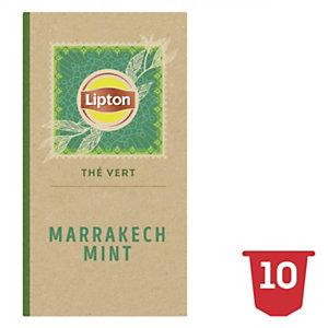 Lipton Thé Vert Marrakech Mint 10 Capsules