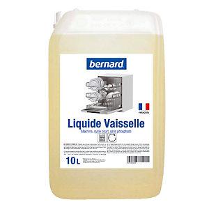 Liquide de lavage lave-vaisselle cycle court Bernard 10 L
