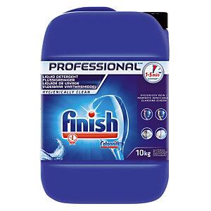 Liquide de lavage lave-vaisselle cycle court Finish Calgonit 10 L