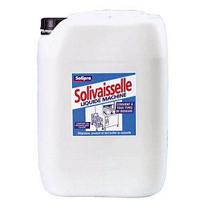 Liquide de lavage lave-vaisselle cycle court Solivaisselle de Solipro 20 L