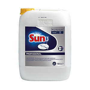 Liquide de lavage lave-vaisselle cycle court Sun Professionnal 10 L