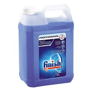 Liquide de rinçage lave-vaisselle cycle court Finish Calgonit 5 L