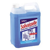 Liquide de rinçage lave-vaisselle cycle court  Solivaisselle de Solipro 5 L##Spoelmiddel voor vaatwasser korte cyclus Solivaisselle van Solipro 5 L