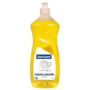 Liquide vaisselle dégraissant Bernard citron 1 L