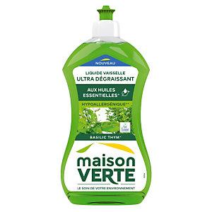 Liquide vaisselle Maison verte thym-basilic 500 ml