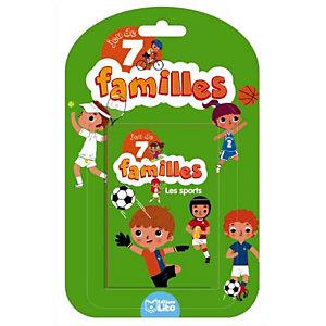 LITO DIFFUSION Jeu de cartes des 7 familles thème le sport