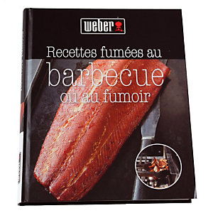 """Livre de recettes Weber® """"Recettes fumées au barbecue ou au fumoir"""""""