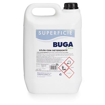 Lixívia com detergente Buga