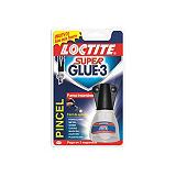 Loctite Super Glue-3 Pegamento con pincel