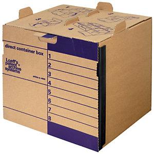 Loeff's Patent Contenitore Direct Container, 38 x 33 x 36 cm, Marrone (confezione 15 pezzi)