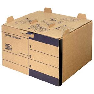 Loeff's Patent Contenitore Jumbo Container, 42,5 x 40 x 28 cm, Marrone (confezione 15 pezzi)