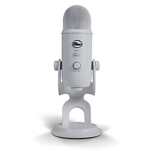 Logitech Blue Microphones Yeti, Micrófono de superficie para mesa, 20 - 20000 Hz, 16 bit, 48 kHz, Alámbrico, USB 988-000241