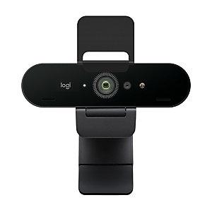 Logitech Brio Stream webcam, 4096 x 21060 pixels, 60 ips, 1080p, USB 3.2 Gen 1 (3.1 Gen 1), Noir, Clip 960-001194