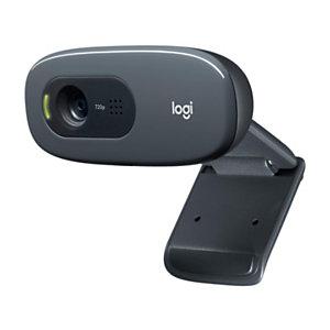 Logitech C270 Webcam HD, negra