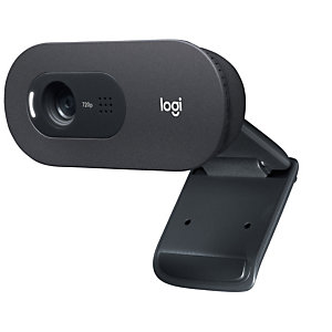 Logitech C505 HD Webcam, 1280 x 720 pixels, 30 ips, 1280x720@30fps, 720p, 60°, USB 960-001364