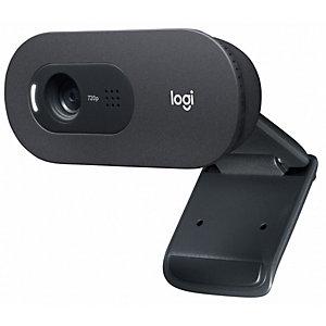 Logitech C505E Webcam HD, negra, 960-001372