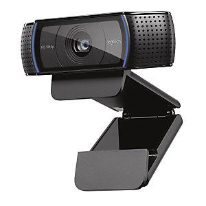 Logitech C920 HD Pro, 15 MP, 1920 x 1080 pixels, 720p,1080p, H.264, USB 2.0, Noir 960-001055