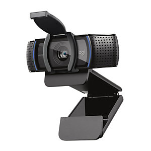 Logitech C920e, 1920 x 1080 Pixeles, 30 pps, 720p,1080p, Pop-up, 78°, USB 3.2 Gen 1 (3.1 Gen 1) 960-001360