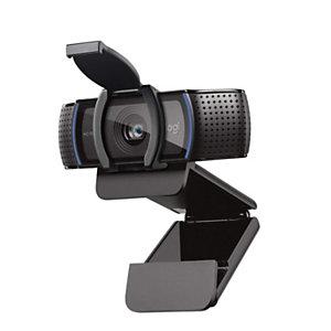 Logitech C920S Webcam Pro HD, negra