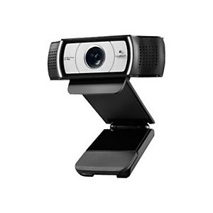 Logitech C930e, 1920 x 1080 Pixeles, 30 pps, 720p,1080p, 4x, USB, Negro 960-000972
