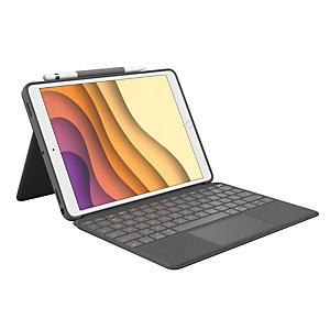 Logitech Combo Touch, Español, Touchpad, Mini, 1,8 cm, 1 mm, iPad Air (3rd gen), iPad Pro 10.5-inch 920-009643