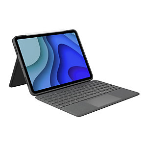 Logitech Folio Touch, Español, Trackpad, 1,8 cm, 1 mm, iPad Pro 11-inch (1st gen), iPad Pro 11-inch (2nd gen), Grafito 920-009749