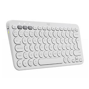 Logitech K380, Mini, Bluetooth, QWERTZ, Blanco 920-009588