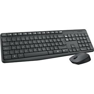 Logitech MK235 Pack combinado de ratón y teclado inalámbricos