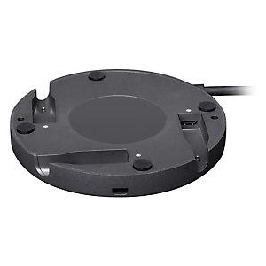 Logitech Rally Mic Pod Hub, Negro, Escritorio, Rally Rally Plus, 102 mm, 102 mm, 16 mm 939-001647
