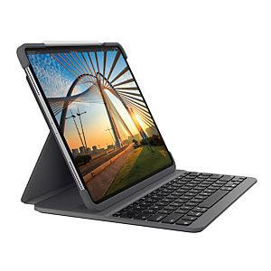 Logitech Slim Folio Pro, AZERTY, Francés, 1,7 cm, 1,6 mm, Apple, iPad Pro 11-inch (1st generation) (Model: A1980, A1934, A1979, A2013) iPad Pro 11-inch (2nd... 920-009684