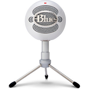 Logitech Snowball iCE, Micrófono de superficie para mesa, 40 - 18000 Hz, 16 bit, 44,1 kHz, Alámbrico, USB 988-000181