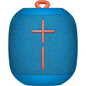 Logitech Ultimate Ears WONDERBOOM, 2.0 canales, Inalámbrico, Altavoz monofónico portátil, Azul, Cilindro, Digital 984-000852