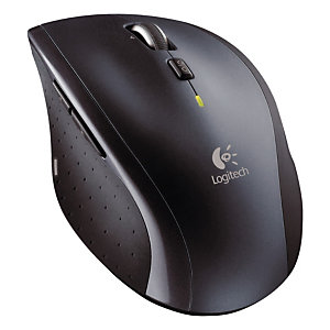 Logitech Wireless Mouse M705 - Souris - Laser - 5 boutons - Sans fil - USB - Noir