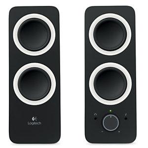 Logitech Z200, haut-parleurs multimédia filaires, prise 3,5mm, 10W, noir