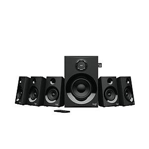 Logitech Z607, 5.1 canales, 80 W, Universal, Negro, 160 W, FM 980-001316