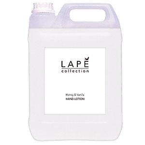 Lotion hydratante Lapé vanille et miel, bidon de 5 L