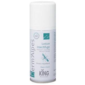 Lotion pompe insectifuge King Derm'Alpes 100 ml