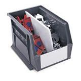 Louvred storage divider packs