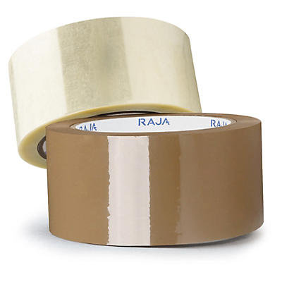 Low noise polypropylene packaging tape