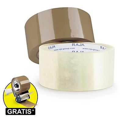 Ruban adhésif PP silencieux RAJA (qualité standard)##Low-noise PP Packbänder RAJA (Standardqualität)