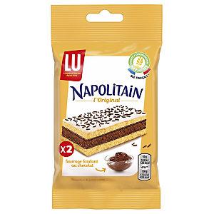 LU Paquet de 2 gâteaux Napolitain Classic pocket 60 g