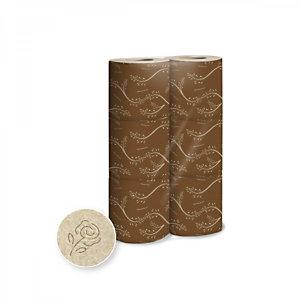 LUCART Rotolo di carta igienica EcoNatural 1, Fascettato singolarmente, Naturale (confezione 6 pezzi)