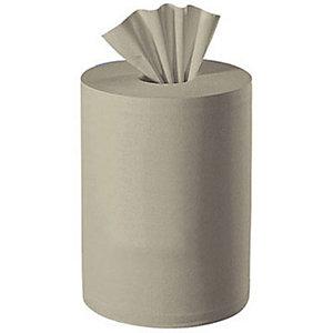 LUCART Rouleau distributeur d'essuie-mains, recyclé, 450feuilles, 200mm, chamois