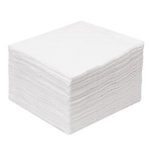 LUCART Serviettes de table en papier Lucart, coloris blanc, le colis de 2400