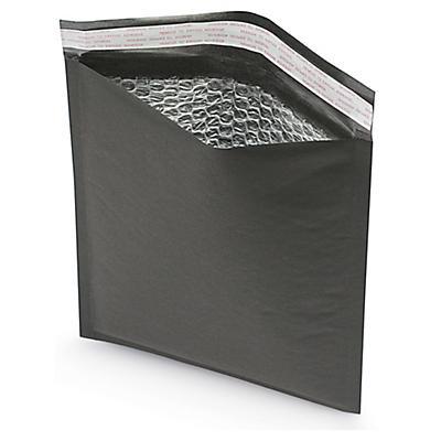 Luftpolster-Versandtaschen in matt schwarz