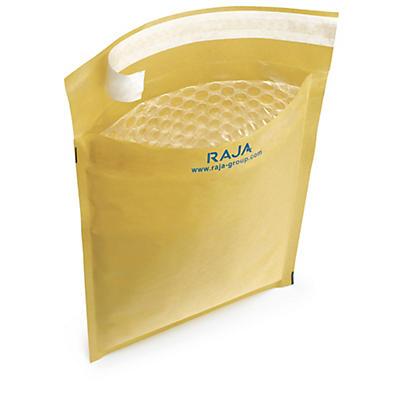 Luftpolster-Versandtaschen RAJA Eco, braun