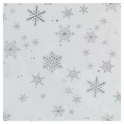 Luxury Christmas Snowflake Tissue Paper