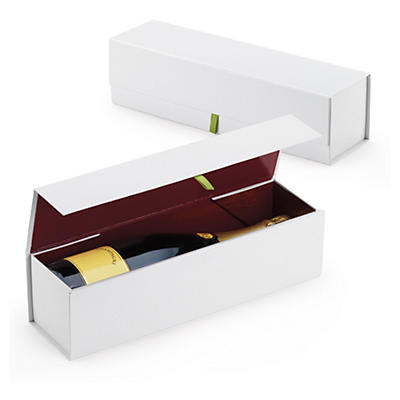 Luxury magnetic wine gift boxes