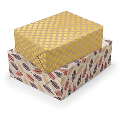 Luxury trends gift wrapping paper