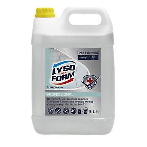 Lysoform Disinfettante clorossidante ad azione detergente e sgrassante Lysoform Clor, Tanica 5 l